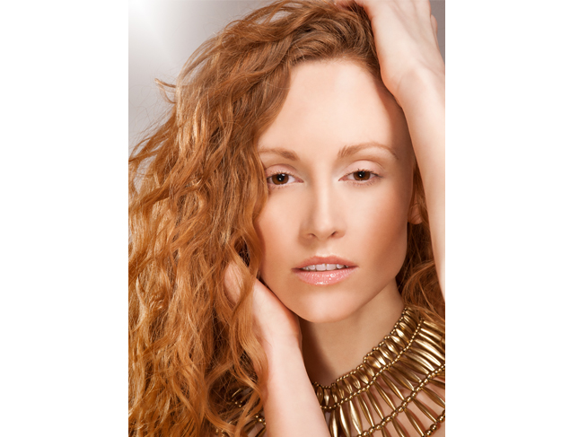 Red Head Model Beauty Janine
