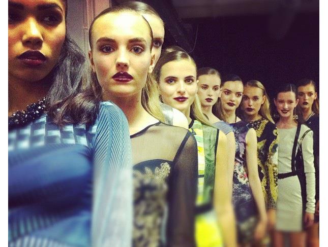 Fashion show catwalk  Make-up by Make-up Artist Michelle MacGregor