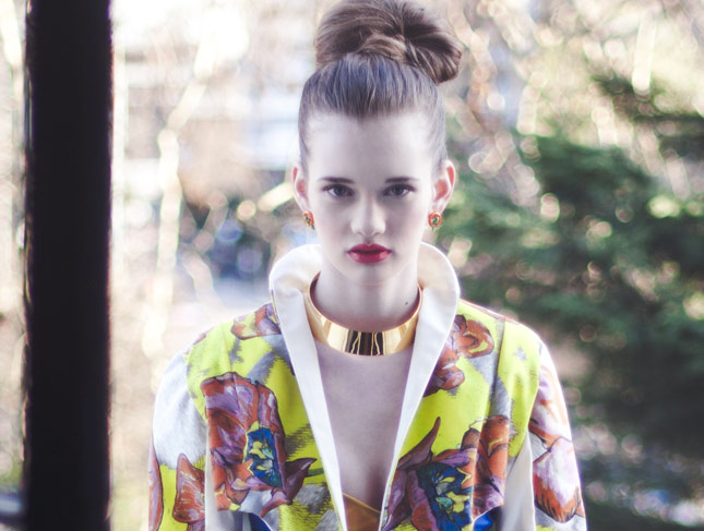 Fashion Editorial Make-up by Make-up Artist Michelle MacGregor