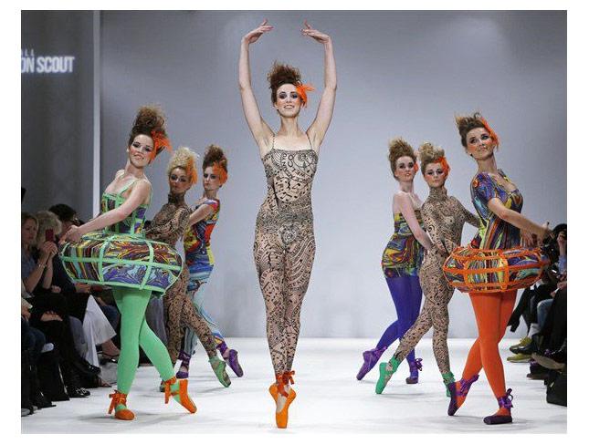 London Fashion Week  Make-up by Make-up Artist Michelle MacGregor