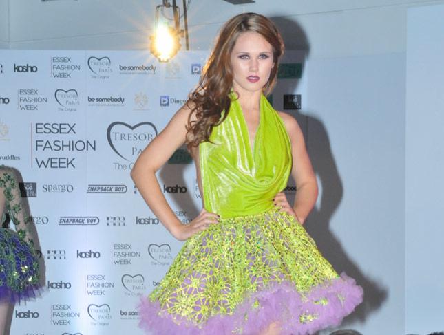 Essex Fashion Week Make-up by Make-up Artist Michelle MacGregor